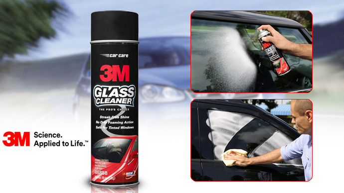 Why use 3M Glass Cleaner 08888 to clean glass
